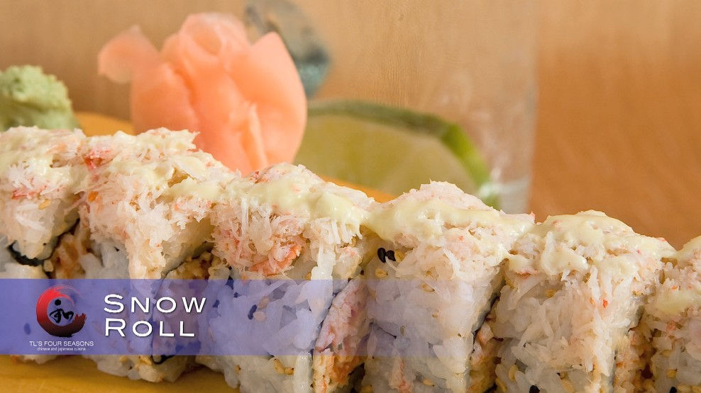 snow crab roll › TL's Four Seasons Chinese & Japanese ...