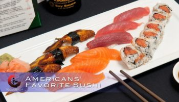 Americans' favorite sushi