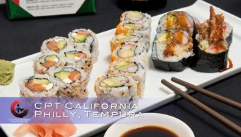 CPT – california, philadelphia and tempura