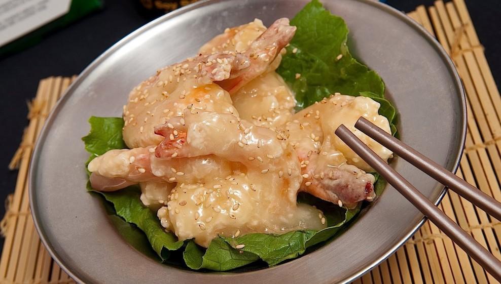 Crispy canton shrimp