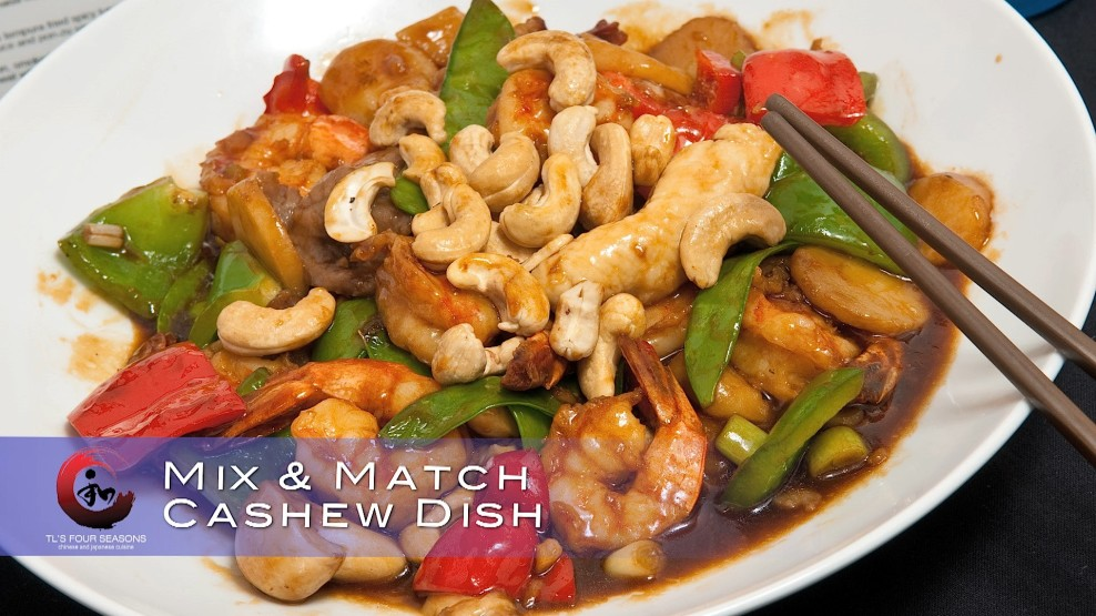 Cashew Dish Tl S Four Seasons Chinese Japanese Cuisine