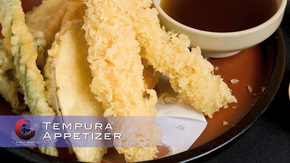 Tempura appetizer